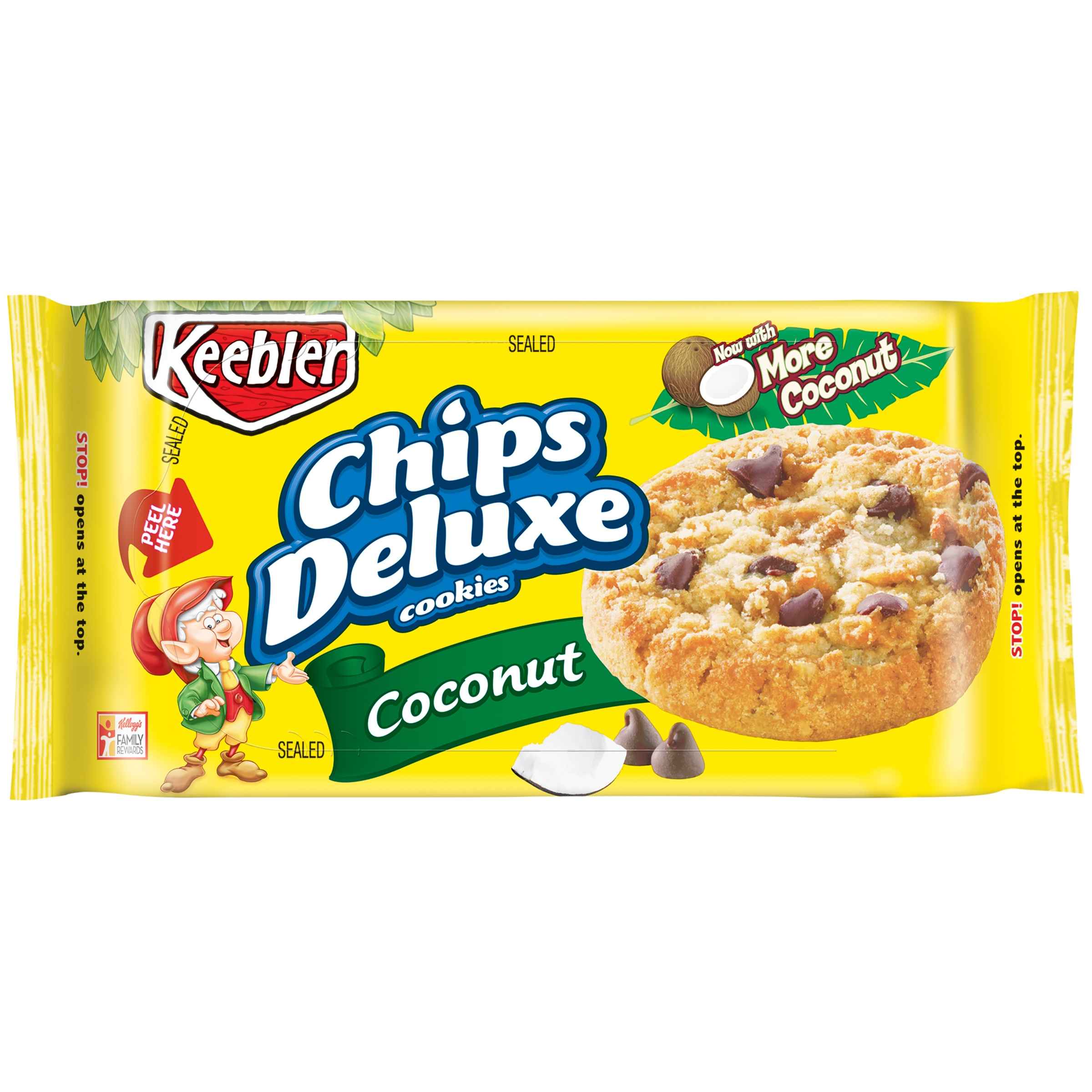 Keebler Chips Deluxe Coconut Cookies, 11 oz by Kellogg Sales Co.
