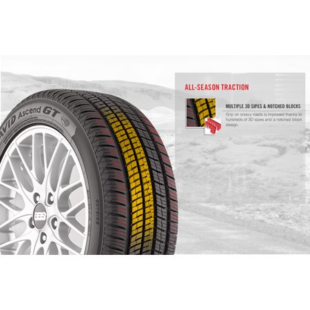 Yokohama Avid Ascend P225/55R17 97V BSW All-Season Tire