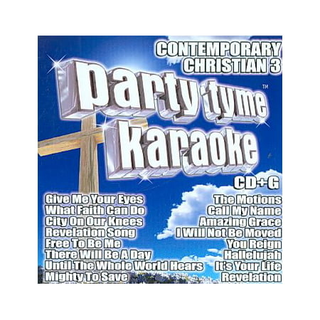 PARTY TYME KARAOKE-CONTEMPORARY CHRISTIAN 3 (CD) (Music)](Christian Birthday)