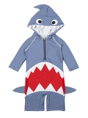Baby Boy Kids Shark Costume Swimsuit (3T)