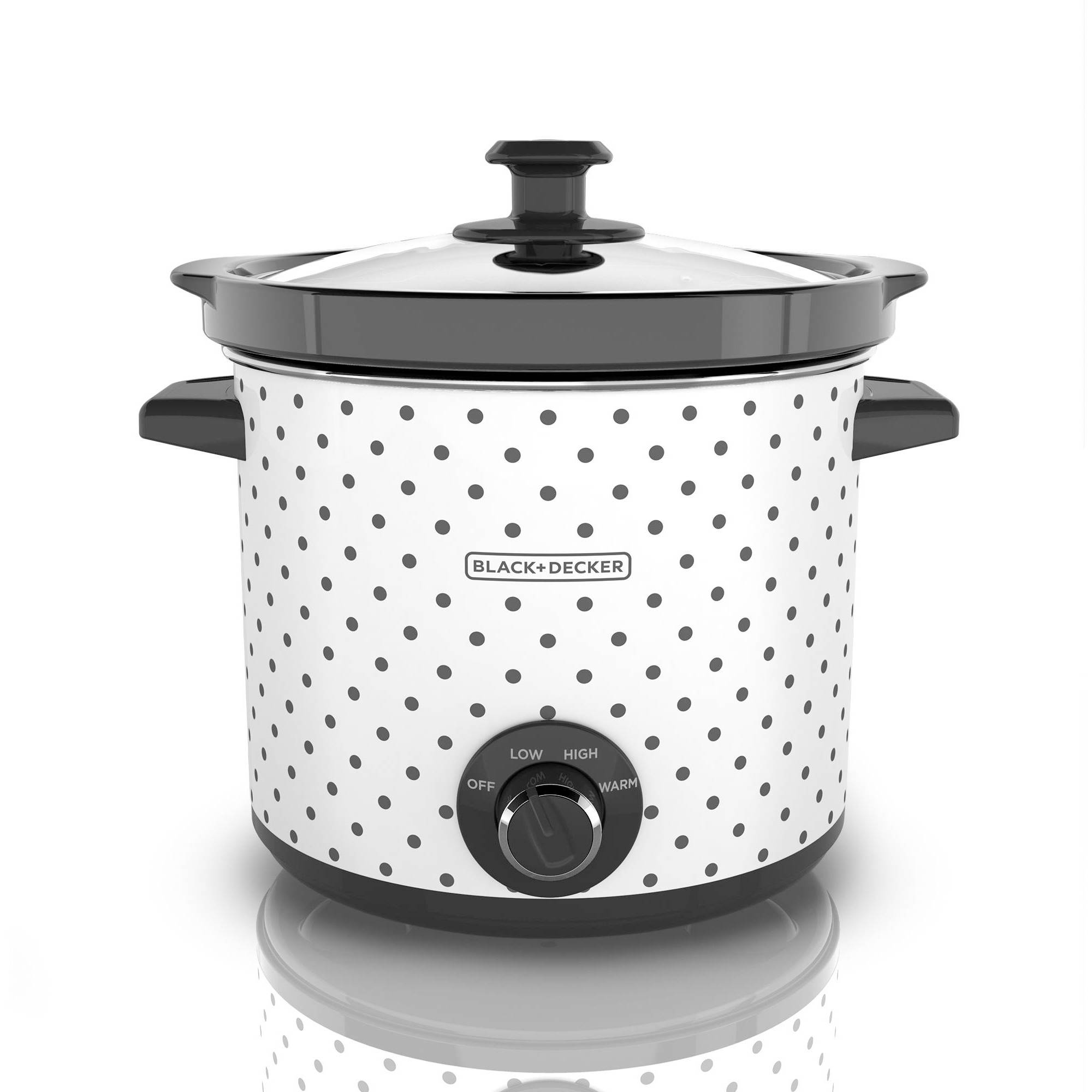 Black and Decker 4-Quart Slow Cooker with 3 Heat Settings