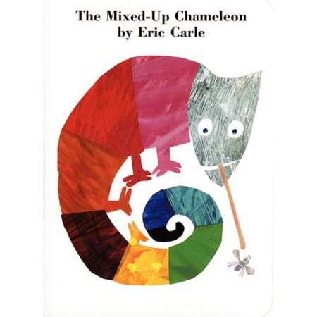 Mix Board - Mixed Up Chameleon (Board Book)