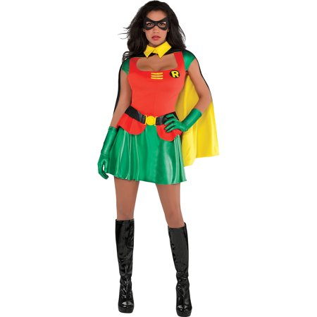 Suit Yourself Robin Halloween Costume for Women, Batman, Includes Accessories](Halloween Your Name)