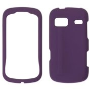 ventev textster soft touch snap-on case for lg freedom un272 (purple)