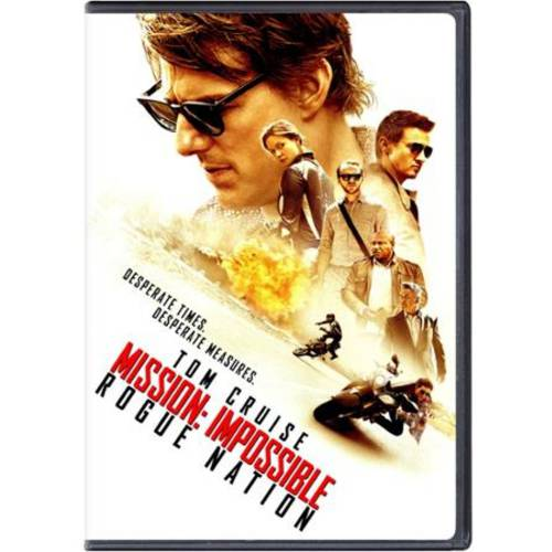 Mission: Impossible - Rogue Nation (DVD + Digital Copy) (Walmart Exclusive) (VUDU Instawatch Included)