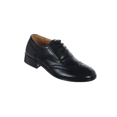 Avery Hill Boys Lace-Up Formal Oxford Style Special Occasion Dress - Special Occassion Shoes