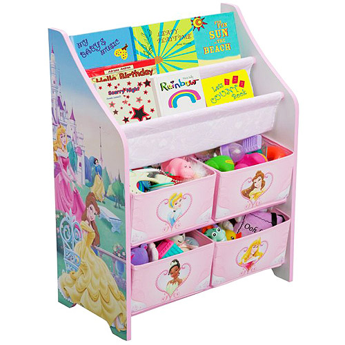 Disney - Princess Book and Toy Organizer