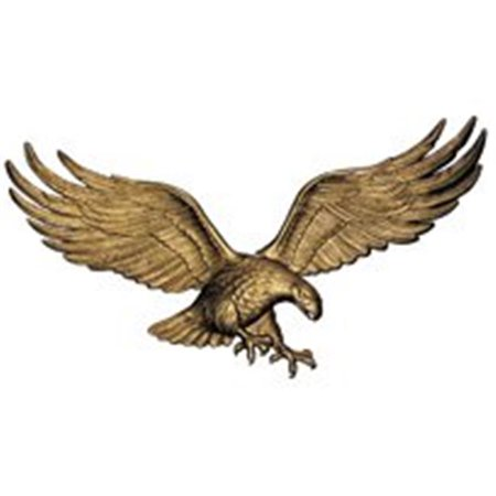 29 in. Wall Eagle - Antique Brass
