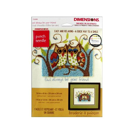 Dimensions Cross Stitch Kit Owl Always BeYouFriend