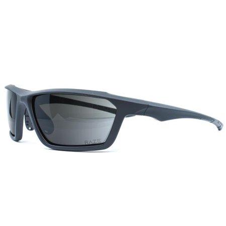 RAZE Adult Sunglasses Prime Black Smoke Polarized (Prime Sunglasses)