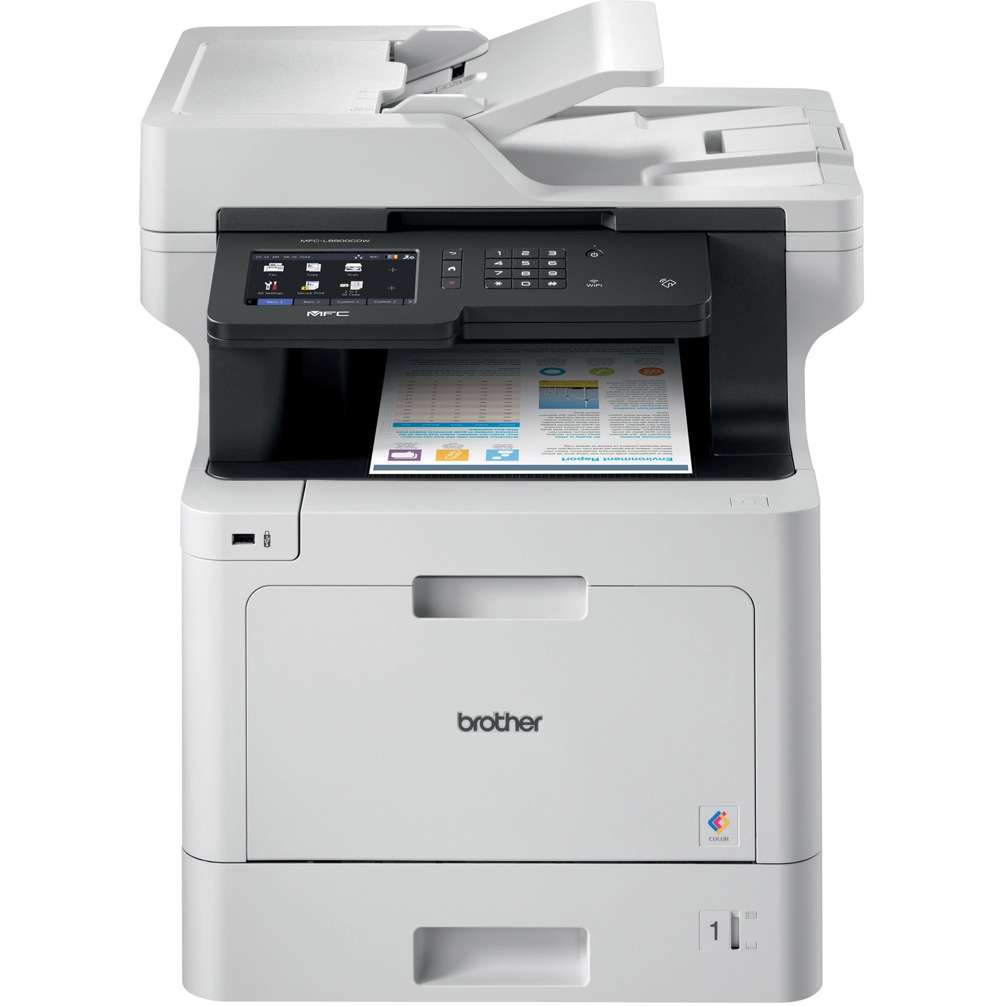 Brother MFC-L8900CDW Laser All-in-One Multifunction Printer