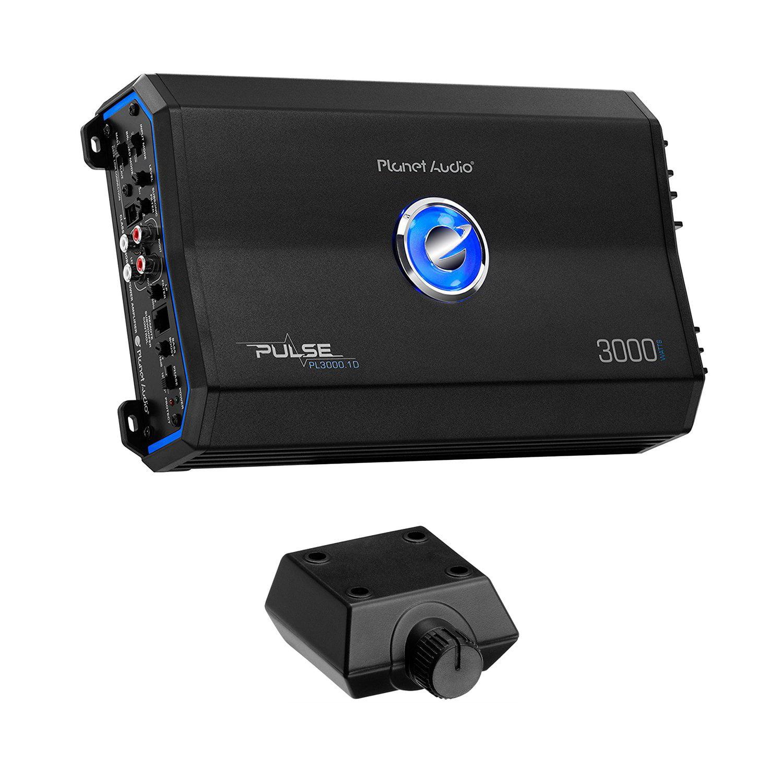 Planet Audio PL3000.1D Pulse 3000W Monoblock Class D Amplifier