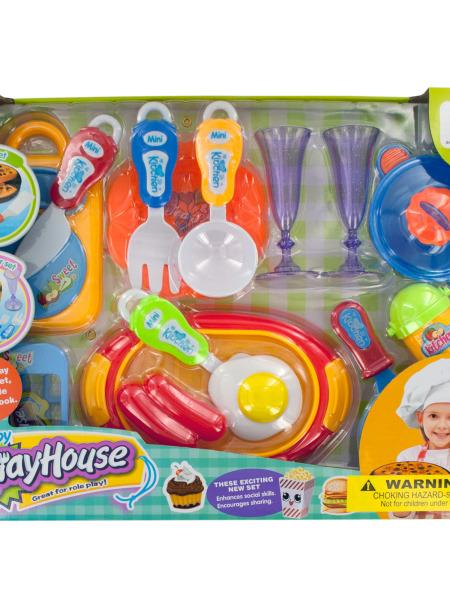Fancy Cooking Play Set (Available in a pack of 4) by
