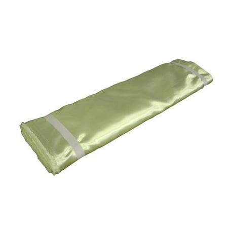 1204 Satin (LA Linen BridalBolt-5Yrd-SageB19 5 Yards Bridal Satin Flat Fold, Sage)