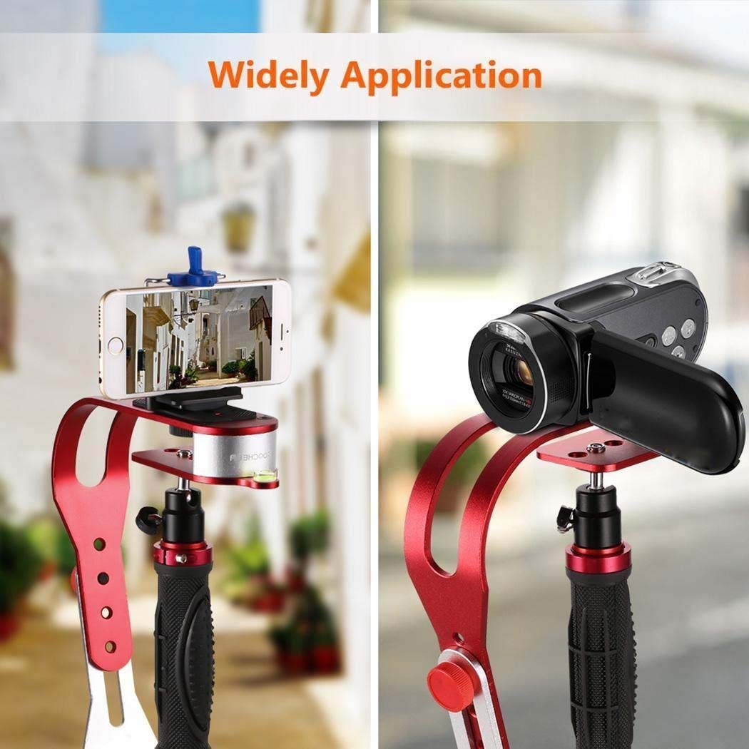VGEBY PRO Handheld Video Camera Stabilizer Steady, Perfect for GoPro 5/4/3/3+, iPhone and Other Smartphone, Cannon, Nikon, Sony or any DSLR Camera up to 2.1 pounds