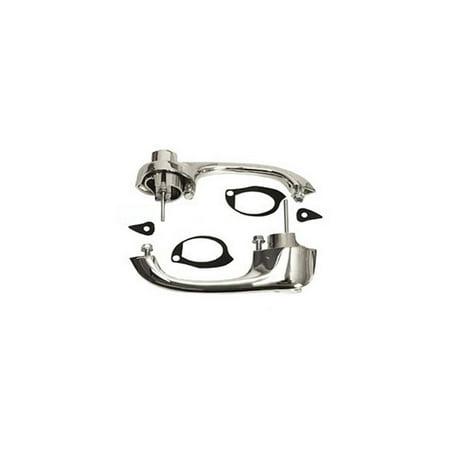 Eckler's Premier  Products 25-241276 Trim Parts, Outside Door Handles| 5254 Corvette (Outside Trim Parts)