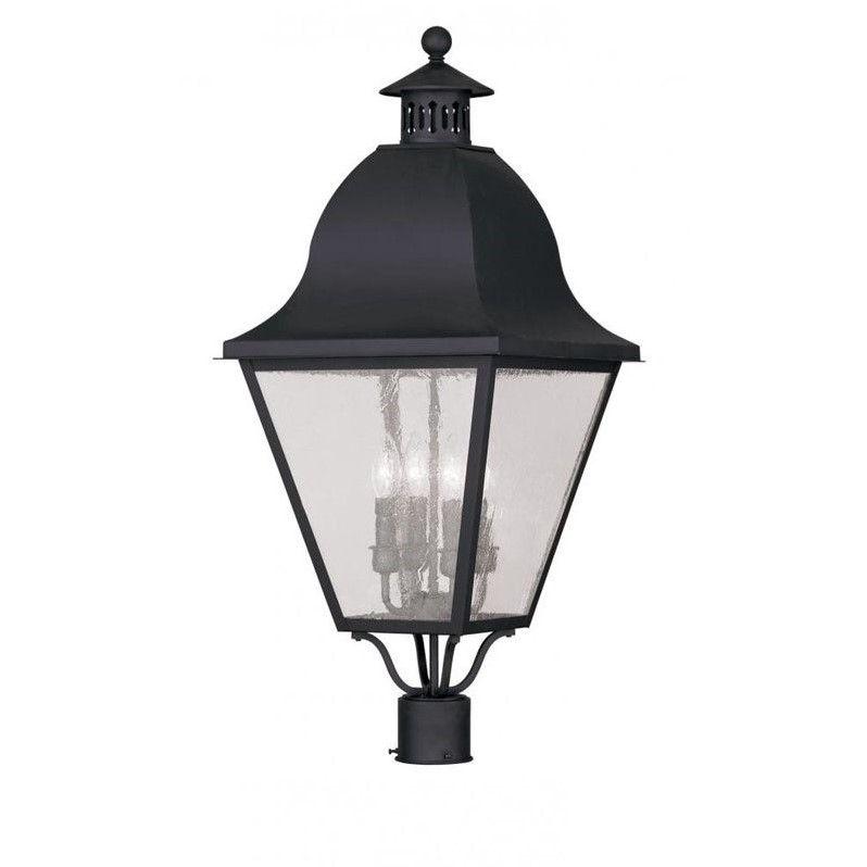 Livex Lighting Amwell 4 Light Outdoor Post Lantern