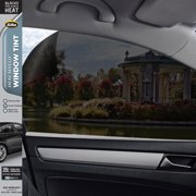 Gila® Heat Shield 35% VLT Automotive Window Tint DIY Heat Control Glare Control Privacy 2ft x 6.5ft (24in x 78in)