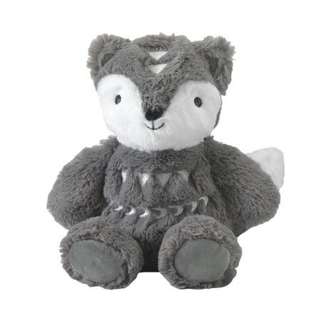Lambs & Ivy Stay Wild Gray Plush Fox Stuffed Animal 9