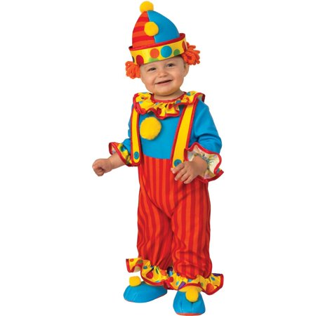Funny Twin Boy Halloween Costumes (Halloween Little Clown Infant/Toddler)