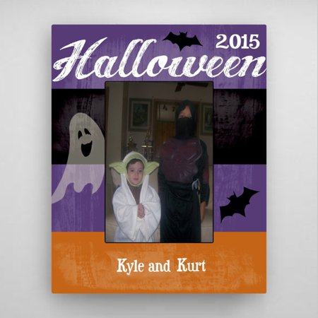 Personalized Halloween Picture - Halloween Writing Frame