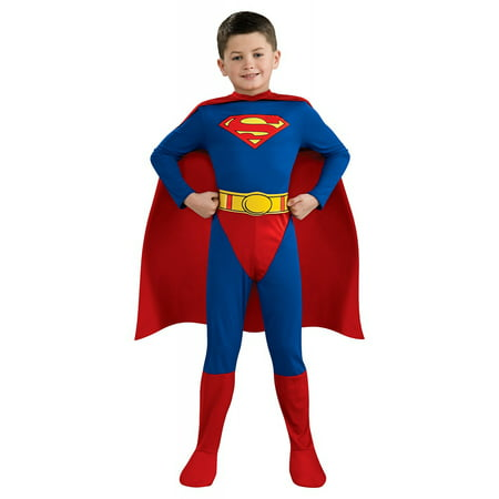 Superman Child Costume - Large - Superman Costume For Kids
