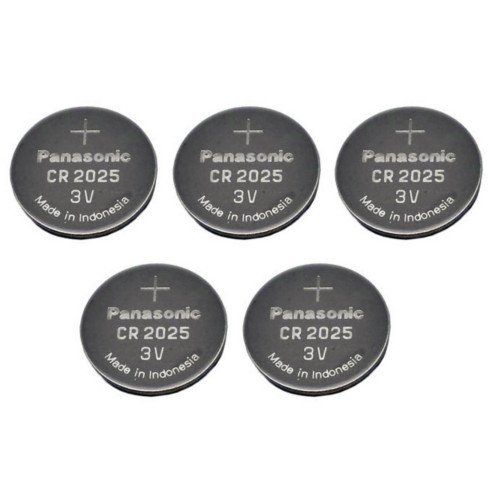 Panasonic Cr2025 5 Cr2025 3v Lithium Coin Battery