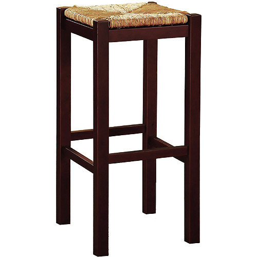 Linon Home Rush Top Backless Counter Stool 24 Quot Wenge Pine