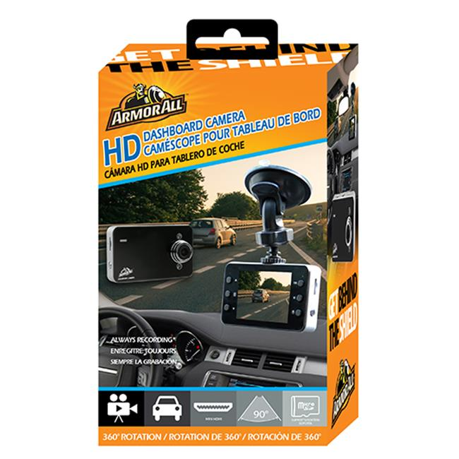 Armor All ADC2-1003-BLK 2.4 in. Universal HD Dashboard Camera Screen, Black - image 1 of 1