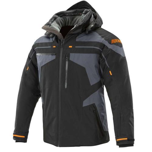 Joe Rocket Rocket Crew 2015 Mens Cold Weather Jacket Black/Gray