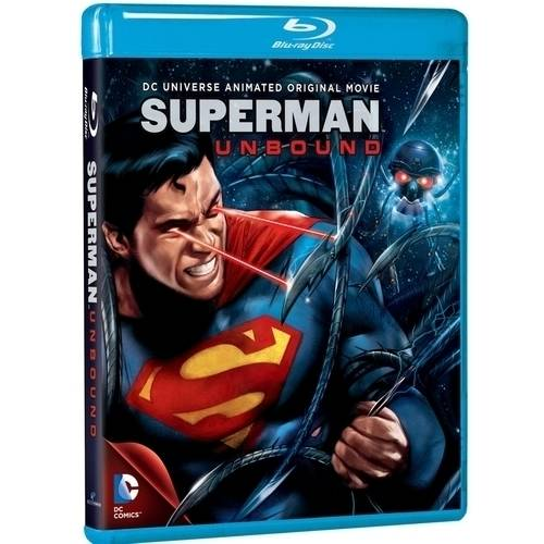 DC Universe: Superman Unbound - Animated Original Movie (Blu-ray + UltraViolet) (With INSTAWATCH) (Widescreen)