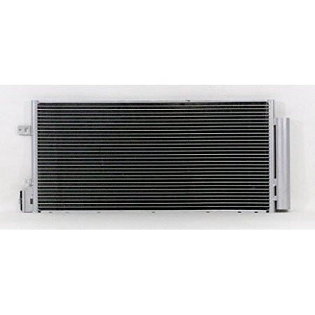 A-C Condenser - Pacific Best Inc For/Fit 4083 12-18 Chevrolet Sonic Sedan 12-18 Hatchback 1.4L Parallel Flow Construction WITH Receiver &