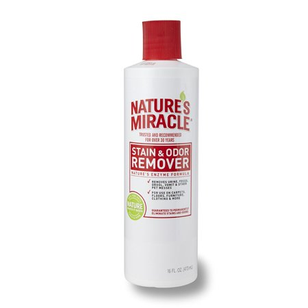Nature's Miracle Pet Stain & Odor Remover with Enzymatic Formula Spray, 16