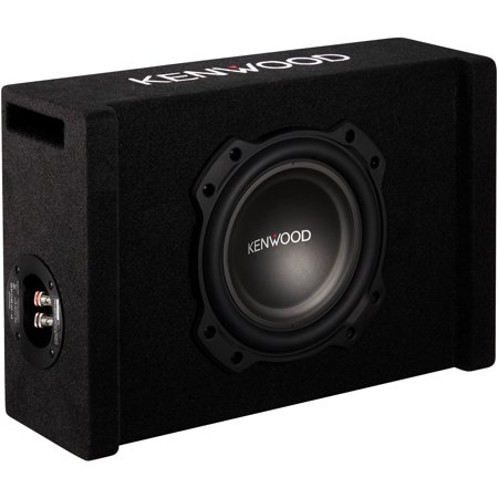 "Kenwood P-W804B 8"" Oversized Subwoofer In Vented Enclosure"