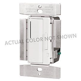 Cooper Wiring Smart Dimmer - Cooper Wiring Devices AIM10-GY ACCELL 1,000 Watt INC/MLV Master Smart Dimmer, Gray