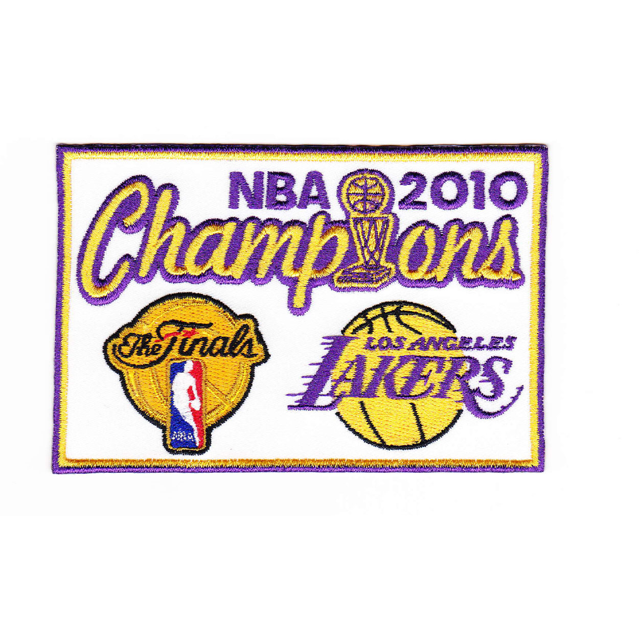 2010 NBA Championship Patch - Los Angeles Lakers