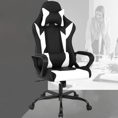 Super Racing Office Chair High Back Pu Leather Gaming Chair Gmtry Best Dining Table And Chair Ideas Images Gmtryco
