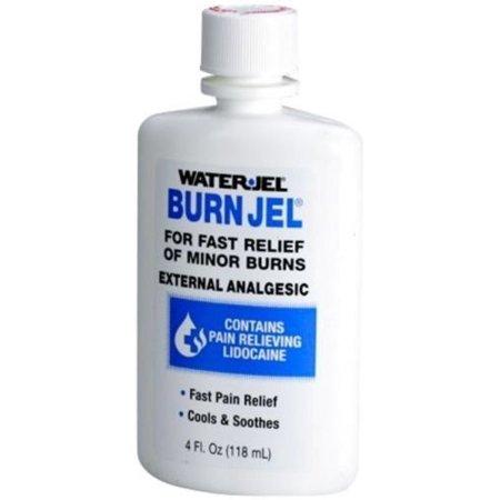 Emergency Burn Jel Cools & Soothes, By Water-Jel 4 oz Bottle 2 PCS Burn Spray 2 Oz Bottle
