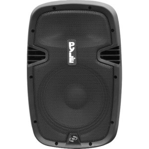 10-in 700 Watt Powered Two-Way Speaker w/MP3/USB/SD/Bluetooth Streaming & Record Function w/Remote Control