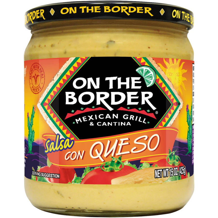 On The Border Mexican Grill & Cantina Salsa con Queso, 15 oz