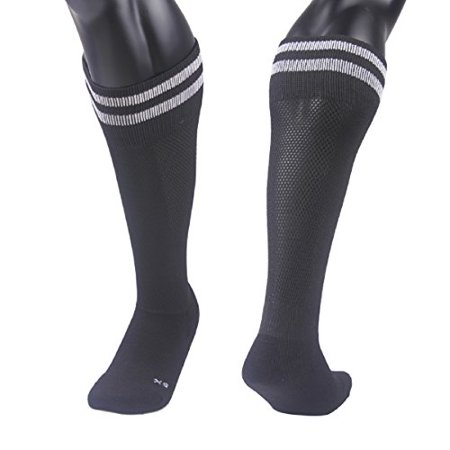 Lian LifeStyle Unisex Children 1 Pair Knee Length Sports Socks for Baseball/Soccer/Lacrosse S(Black)](Annoying Orange Sock)