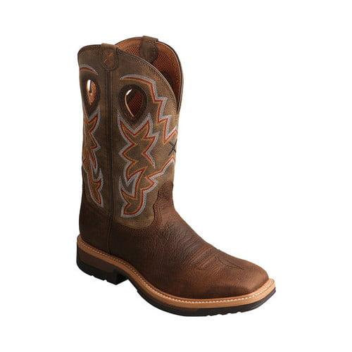 Men's Twisted X Boots MLCA001 Lightweight Cowboy Work Boot