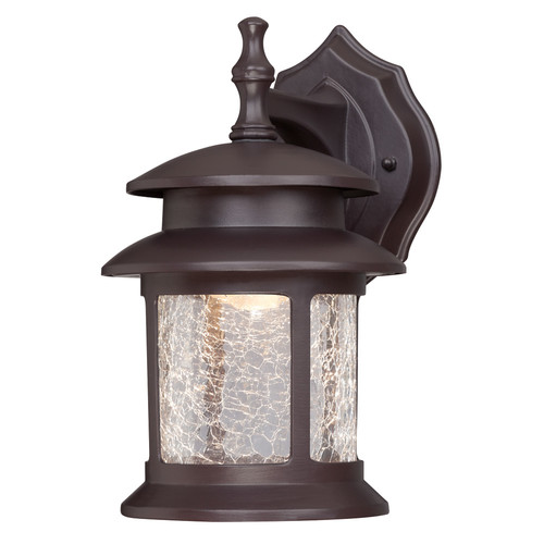 Westinghouse 64003 Oil Rubbed Bronze One-Light LED Outdoor Wall Fixture