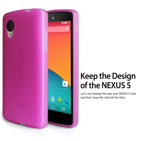 LivEditor Gel Silicone Case Cover For Google LG Nexus 5+Free Anti-Glare Screen Protector - image 4 of 7