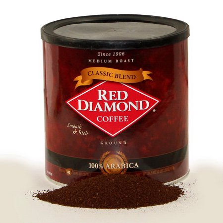 Red Diamond 107865 Diamond Can Coffee 6-2.16 Pound