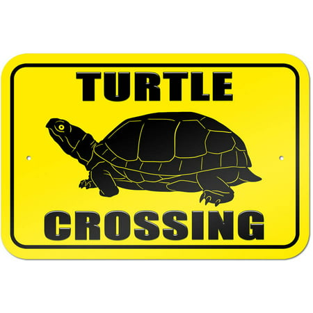 - Turtle Crossing Sign