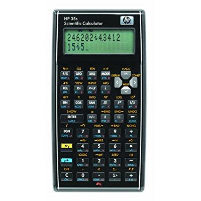 hp 35s - 35s programmable scientific calculator, 14-digit lcd