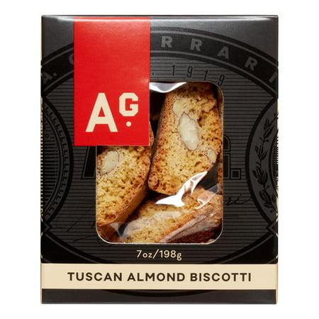 Image of A.G. Ferrari Biscotti, Tuscan Almond, 7 Oz
