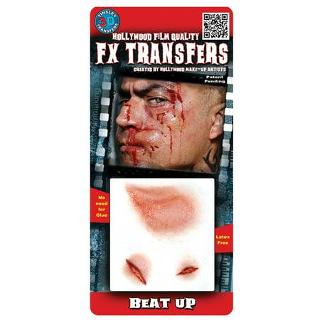 Beat Up 3D Tattoo Adult Halloween Accessory - Halloween Beats Instrumental