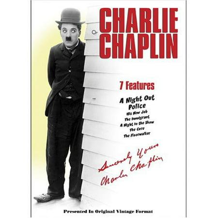 CHARLIE CHAPLIN V04 (DVD) - Halloween Charlie Chaplin